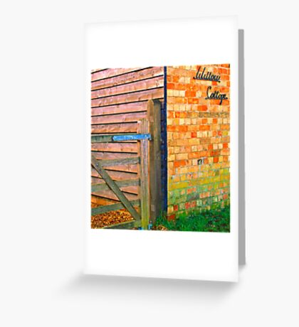 Willow Cottage ..  Greeting Card