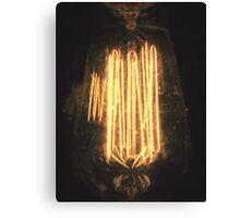 A Dreamy Lightbulb. Canvas Print