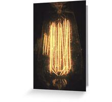 A Dreamy Lightbulb. Greeting Card
