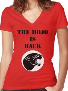 Odessa Permian MOJO Women's Fitted V-Neck T-Shirt