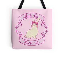Lovely STFU Bunny Tote Bag