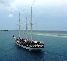 A beautiful sailing ship by Kathryn Considine