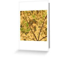 Yellow Leaf #1 Greeting Card