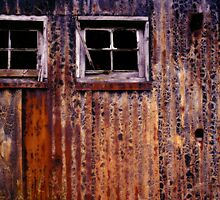 Rusty Barn #2 by Syman  Kaye