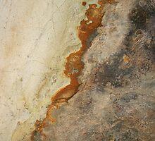 Red Rock Shapes #2 by Syman  Kaye