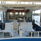 A Look Inside a Working Boat! Tin Can Bay. Queensland. by Rita Blom