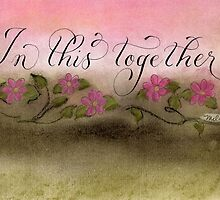 In This Together handwritten quote   by Melissa Goza