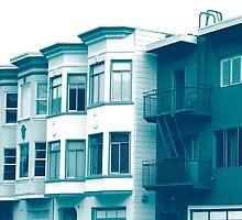 A Row Of Houses by JonHanson