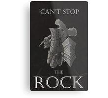 Havel The Rock Metal Print