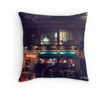 The Filling Station Throw Pillow