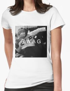 Swag Monkey Womens Fitted T-Shirt