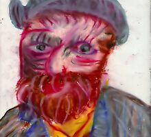 Portrait of Vincent Van Gogh by karen66
