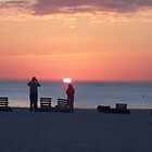 Sunset on St Pete Beach by Brian Willocks