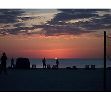 St Pete Beach @ Sunset Photographic Print