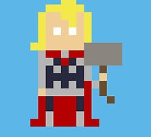 8-Bit Thor by kindigo