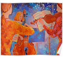 A Little Night Music, figurative Poster