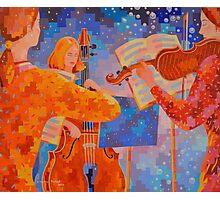A Little Night Music, figurative Photographic Print