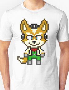 Fox McCloud - Star Fox Team Mini Pixel Unisex T-Shirt