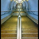 London underground steps by daveyt