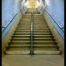 London underground steps (Up) by daveyt