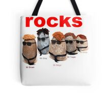 Reservoir Rocks Tote Bag