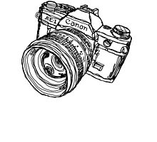 Classic SLR Camera by strayfoto