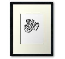 Classic SLR Camera Framed Print