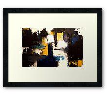 """""""BRUSH"""" Framed Print"""