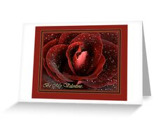 Rose Valentine Card II Greeting Card