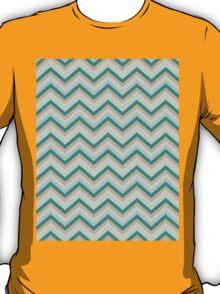Retro Zig Zag Chevron Pattern T-Shirt