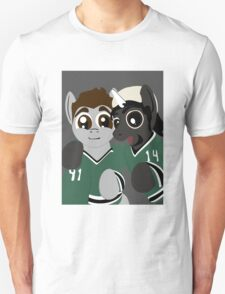 Pony Seguin and Bennicorn selfie Unisex T-Shirt