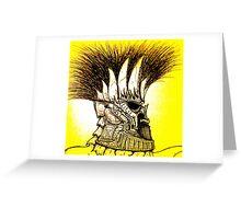 Spartan Greeting Card