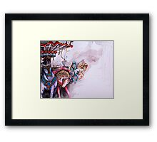 The Carnival 02 Framed Print