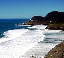 Heceta Lighthouse by Dave Sandersfeld