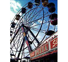 Pizza Wheel Photographic Print