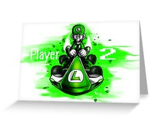 Player 2 Greeting Card