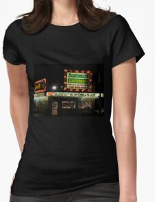 Italian beef Womens Fitted T-Shirt