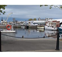 Boats in Hobart Photographic Print