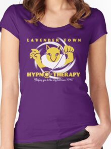 Lavender Town Hypno-Therapy Women's Fitted Scoop T-Shirt