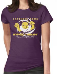 Lavender Town Hypno-Therapy Womens Fitted T-Shirt