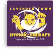 Lavender Town Hypno-Therapy Canvas Print