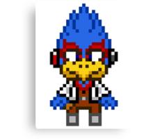 Falco Lombardi - Star Fox Team Mini Pixel Canvas Print