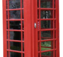 London Telephone Booth Sticker Sticker