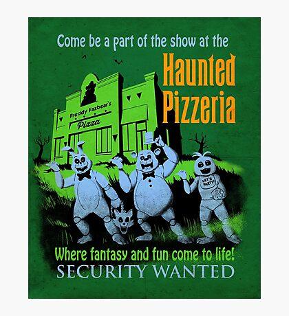 The Haunted Pizzeria Photographic Print