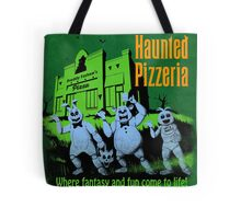 The Haunted Pizzeria Tote Bag