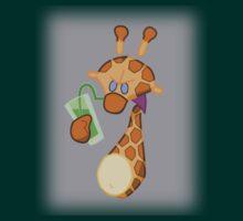 Evil Giraffe T-shirt by StudioColrouphobia