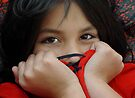 Eyes of a Little Dark Haired Beauty by Patricia Anne McCarty-Tamayo