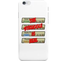 Pokemon: The Struggle Is Real iPhone Case/Skin
