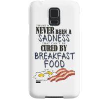 Breakfast Food Cures All Samsung Galaxy Case/Skin