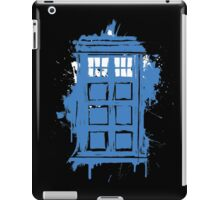 Painted in Blue and White iPad Case/Skin